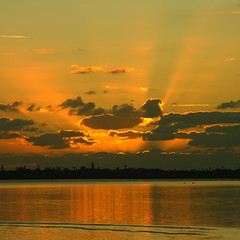 SUNRISE (R. D. SMITH) Tags: florida sunrise dawn orange river clouds indianriver water canonrebelxsi melbourneflorida brevardcountyflorida squareformat crop