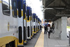 SACRAMENTO--UTDC Train at Watt/I80 (milantram) Tags: electricrailtransport railsystemssacramento sacramento rtmetro blueline streetcars trolleys trams lightrail