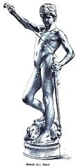 Marius Jean Antonin Mercié (1845-1916) - David (1873) engraving (ketrin1407) Tags: antoninmercié 19thcentury david goliath biblical statue sculpture bronze nude naked erotic sword engraving