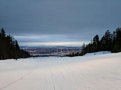 IMG_20180104_164151 (Sweet One) Tags: grousemountain dusk night city skyline view vancouver bc britishcolumbia canada skiing winter snow