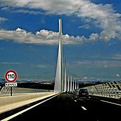 110 (pom'.) Tags: canondigitalixus500 july 2005 viaducdemilau milau france europeanunion aveyron occitanie a75 110 fromamovingvehicle 12 tarn bridge viaduc autoroute motorway highway 100 200 300 5000