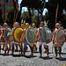 21 aprile 2013, Natale di Roma: sfilano i guerrieri greci