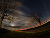 The Start Line (RS400) Tags: fisheye fish eye sky stars cool wow amazing red long exposure clouds tree trees blue night time landscape olympus uk southwest bristol travel outside