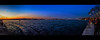 Just a bit further north (Melissa Maples) Tags: istanbul turkey türkiye asia 土耳其 apple iphone iphone6 cameraphone üsküdar evening dusk boğaz sea bosphorus water widescreen letterbox panoramic panorama blue promenade prom lights strait