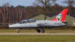 Skyline Aviation NX139LZ (Ronald Air) Tags: volkel air base rnlaf fighter jet plane ehvk