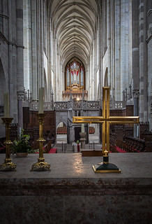 behind the altar in the Magdeburger Dom