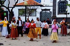 Young dancers (Steenjep) Tags: madeira portugal ferie holiday urlaub funchal city street streetlife folkloremdancer local festival celebration dance music
