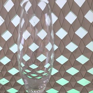 Abandoned #wineglass at #Oslo #opera #operaen #oslooperahouse #patterns #interiordesign