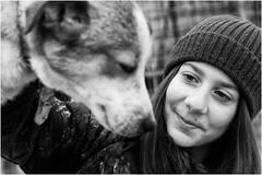 Chiara (andaradagio) Tags: andaradagio bianconero bw canon dog cane miglioramicodelluomo nadiadagaro rifugioohana bandaa4zampeumbria littledoglaughednoiret