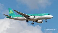 EI-DER  Airbus A320-200 - Aer Lingus (Peter Beljaards) Tags: aircraft airplane jetliner nikond5500 ams schiphol landing aviationphotography eider eham airbusa320200 a320 airbus aerlingus final stmel mel