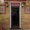 Welcome (innpictime ζ♠♠ρﭐḉ†ﭐᶬ₹ Ȝ͏۞°ʖ) Tags: pub bar greatyarmouth norfolk lamps signage doorway entrance threshold brick guinness marineparade barkingsmack doorstep lacons welcome tile 1845 amchristophi 526023511735912