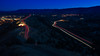 Skyline Drive - Cañon City, Colorado (Christopher J May) Tags: skylinedrive cañoncity colorado co canyoncity canoncity lighttrails road taillights headlights bluehour nikond600 tamronsp2040mmf2735