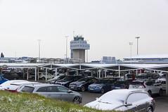 Nieve en el parking del Aeropuerto de Asturias (Dawlad Ast) Tags: aeropuerto internacional asturias international airport leas ovd ranon santiago del monte snow nieve febrero 2018 españa spain