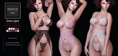 Simone (Big Beautiful Doll) Tags: bigbeautifuldoll sl secondlife lingerie maitreya maitreyalara slink slinkphysique slinkhourglass mesh fitmesh underwear