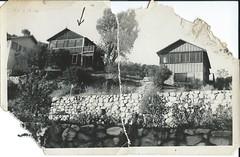 Old Lake Hughes - 05 - Backyard (Shutter Theory) Tags: lakehughes old photo scanned postcard vintage 93532