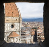 Florence: Duomo (banzainetsurfer) Tags: europe italia italy firenze florence travel window view duomo church