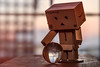 I hope Danbo is seeing spring in that crystal ball (hey ~ it's me lea) Tags: danbo crystalball little ball circle