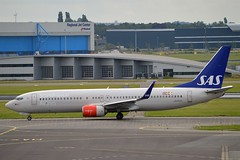 """Asgerd Viking"" SAS Scandinavian Airline System LN-RGG Boeing 737-86N Winglets cn/38039-4469 @ EHAM / AMS 29-06-2016 (Nabil Molinari Photography) Tags: asgerdviking sas scandinavian airline system lnrgg boeing 73786n winglets cn380394469 eham ams 29062016"