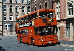 ANA 641Y Manchester 4641 Leyland Atlantean with Northern Counties body at Wigan July97 (Copy) (focus- transport) Tags: first group barbie manchester pennine calderline kelvin badgerline bath bristol bradford southern national beeline smt edinburgh grampian leeds greater glasgow lowland york quickstep travel leyland olympian atlantean tiger vr mcw metrobus dennis dart slf mercedesbenz 0405 volvo b10b alexander q royale strider cityranger scania n113crl l113crl northern counties paladin palatine i caetano east lancs plaxton derwent pointer ecw eastern coachworks optare prisma wright wrightbus handybus axcess endurance