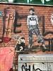 LET   PDOT (falkmo) Tags: comic wall urbanart urban streetart street art pasteup sticker ghost pdot let