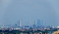Garis Langit Surabaya Barat (Detta Priyandika) Tags: surabaya suroboyo skyscrapers skyscraper skyline scape sustainable livable city urban life garis langit gedung pencakar deretan laut sea selat strait madura jawa timur east java across