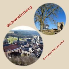Schweinberg mit Burgruine