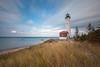 Lake Superior Light (Rudy Malmquist) Tags: crisp point light lake superior michigan long exposure nd neutral density fillter