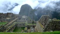 Cloudy Mystic Scene of  Machu Picchu, Peru - P3024807 (Toby Garden) Tags: machu picchu llama wild chinchilla