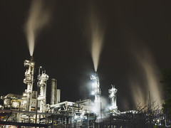 Untitled (Man Wu) Tags: hongkong industry industrial night landscape
