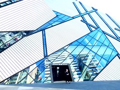 Active Assignment Weekly (mrsparr) Tags: activeassignmentweekly doorsandwindows royalontariomuseum toronto ontario canada people reflections lines streetphotography architecture geometric bestofweek1 bestofweek2 bestofweek3 theflickrlounge weeklytheme blue