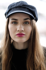 Yes! (piotr_szymanek) Tags: marcelina portrait outdoor woman young skinny eyesoncamera longhair face marcelinab eyes 1k 20f 50f 5k 10k 20k 100f closeup 30k