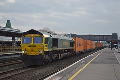 66569, Oxford (JH Stokes) Tags: oxford 66569 diesellocomotives ferroequinology freighttrains freightlocomotive class66 trains trainspotting tracks transport railways photography