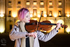 Paula Kowalczyk (mkarwowski) Tags: girl portrait outdoor night people musician canon eos 80d canoneos80d eos80d canonef50mmf18stm ef50mmf18stm flash softbox octagonsoftbox yongnuoyn568exii yongnuorf605c nightportrait bokeh