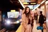 Platform no 2 (Samir D) Tags: samird streetphotography street translink train 2018 bc britishcolumbia vancouver vancity vancitybuzz vans northamerica 604 604now 85mm12 light people debbie