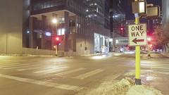 One Way (Sam Wagner Photography) Tags: one way street city long exposure traffic trails generic stock microstock multi use downtown minneapolis car transit transportation planning urban modern metropolis