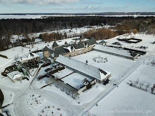 winter wedding northern michigan castle farms photo-1