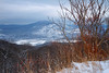 Overlooking the Icy Hudson River (SunnyDazzled) Tags: hudsonriver river valley mountain snow winter cold wind bare trees stark frigid icy frozen clouds sky newyork longexposure