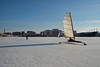 The Chase (gregador) Tags: erie pa dobbinslanding bayfront winter icesailing mountainbiking icebiking frozen keeperieweird