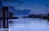 Calm But Cold!! (BGDL) Tags: lightroomcc afsnikkor55200mm1456g bgdl urban nikond7000 riverayr harbour veryquiet 7daysofshooting week29 serene geometrysunday