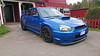 2005 Subaru Impreza (crusaderstgeorge) Tags: crusaderstgeorge cars classiccars bluecars 2005subaruimpreza 2005 subaru impreza gävle gävleborg sweden sverige