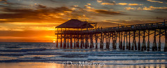 Cocoa Beach Pier (DonMiller_ToGo) Tags: sunrise hdrphotography nature water goldenhour panorama florida hdr atlanticocean cocoabeachpier 3xp onawalk eastcoast outdoors sky pier d810 panoramic panoimages3