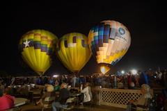 Night Time Show (Brad Prudhon) Tags: 2018 arizona balloon classic glow goodyear january hotairballoons rally