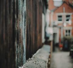 Salvage yard ...HFF! (jess feldon photography) Tags: hff 50mm looklikefilm cotswolds textures salvage fence dof depth jessfeldon's fencefriday