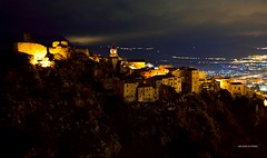 Scalea Cs Calabria Italy (Arcieri Saverio) Tags: calabria italy night notte luci profilo nikon nikkor scalea cs cosenza manuale manual storia castello sigma 1750mm d5300 paesaggio village medievale medieval