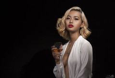 【Hollywood 1940s - Whatever it takes 】 (Huỳnh MiNH Trí) Tags: shooting modeling portrait styling lighting hollywood style professional gorillazs photographer art girl beauty vietnam dress design color feeling godox chân dung
