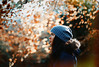 (Bazzerio) Tags: magic leaves autumn light evening magical flare 35mm grainy woman girl mixed race hat coat cold walk adventure hike travel explore bazzerio family love documentary wold portrait profile side