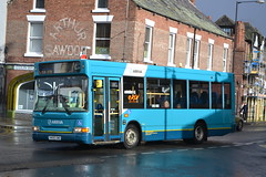Arriva North East 1766 NK05GWE (Will Swain) Tags: whitby station 11th november 2017 bus buses transport travel uk britain vehicle vehicles county country england english north east arriva 1766 nk05gwe dennis dart