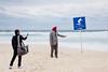 Bondi Beach Surf Area (Tomasz Kulbowski) Tags: bondi bondibeach australia sydney ocean beach beachlife lifesabeach turban surfarea surfing streetphotography streetphoto fotografiauliczna streetphotographer tourism tourist tourists