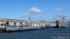USS Pampanito (SS-383) and SS Jeremiah O'Brien (esy05) Tags: uss pampanito ss383 submarine world war ii wwii jeremiah obrien liberty ship pier 45 san francisco california usn navy