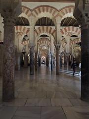 La Mezquita (Great Mosque) of Córdoba (Anita363) Tags: lamezquita mezquita mosque mosque–cathedralofcórdoba mosquecathedralofcórdoba mezquitacatedraldecórdoba greatmosqueofcórdoba architecture building moorish umayyad córdoba andalucía andalusia spain españa unescoworldheritagesite interior arch arcade horseshoearch